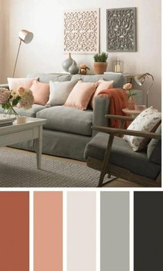 √ 35 Best Living Room Color Schemes Brimming With Character 2019 The most popular new modern living room color schemes that will make your room look professionally designed to get that fixer upper style. Living Room Color, Home Decor Bedroom, Living Room Paint, Paint Colors For Living Room, Living Room Diy, Modern Living Room Colors, Bedroom Color Schemes, Living Decor, Living Room Designs