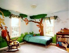 Use Some Of These Kids Jungle Themes Bedroom Ideas For Your References Find Best Themed Here