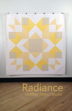 This has me so inspired right now: Radiance a PDF modern quilt pattern by Heather by oliveandollie, $12.00
