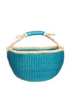 Market Basket - Blue
