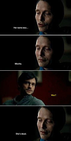 The fact that Hanni actually tells Will about this... ALL THE HOMO FOR HANNIGRAM!!