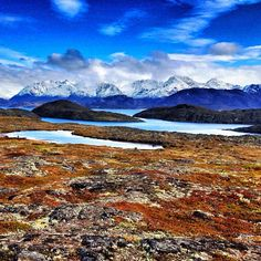 The stunning view of the arctic tundra in the town of Itilleq, Greenland #travel #photography #QuarkExpeditions