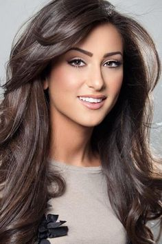 Chocolate Brown Hair Color Ash Ideas - Best HairStyles For All Cool Brown Hair, Light Brown Hair, Brown Hair Colors, Dark Brown, Black Hair, Violet Brown, Hair Colours, Natural Brown, Chocolate Brown Hair