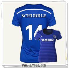 Officiel Pas Cher Maillot de foot 2014 2015 Femme Olympique Marseille Domicile Vetement de www.lly525.com