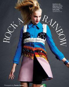 """Glamour UK – """"Rock ARainbow"""""""