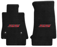 Lloyd Mats VELOURTEX FRONT FLOOR MATS 2004 Pontiac GTO *Silver Embroidered Logo*