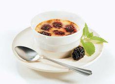 Blackberry Crème Brûlée