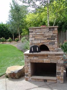 Outdoor Fireplace Plans | Easy and Attractive to Look at - outdoor ...