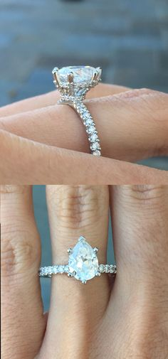 Shine bright like a diamond 306ct pear shaped diamond engagement