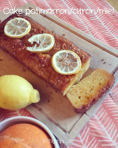 cake potimarron citron miel