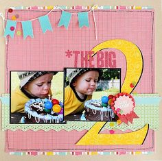 Super birthday pictures ideas for boys scrapbook layouts Ideas Birthday Scrapbook Layouts, Disney Scrapbook, Baby Scrapbook, Travel Scrapbook, Scrapbook Paper Crafts, Scrapbooking Layouts, Paper Crafting, Scrapbook Examples, Scrapbook Sketches