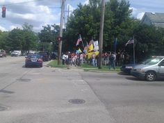 Another  view of Lansing, MI, Americans protesting illegal immigration!