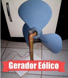 Mini Gerador de Energia Eólica