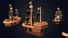 Low Poly Games, Texture Images, Uv Mapping, Low Poly 3d Models, Modelos 3d, Game Concept Art, Model Ships, 3d Projects, 3d Animation