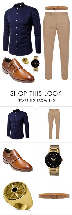 """Men's Style"" by foreverstyleandgrace ❤ liked on Polyvore featuring Gucci, Cole Haan, Bulova, Allurez, Etro, men's fashion and menswear"
