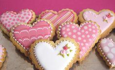 galletas decoradas amor y amistad - Buscar con Google