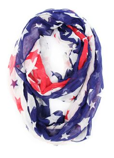 Star Spangled Banner Scarf $19.99  http://www.kikilarue.com/star-spangled-banner-scarf/