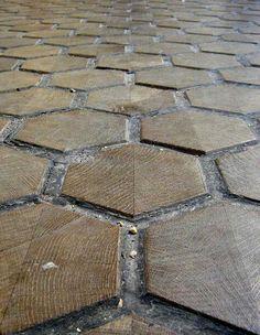 Wood tile Carrage House?