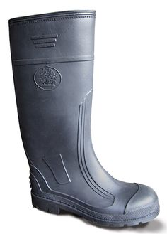 BATA Bota PVC Super Ecco Negra 802-60133