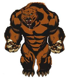 Ursa Major is a Russian mutant that transforms into a giant bear. He becomes a valuable member of the Soviet Super Soldiers and the Winter Guard. Chicago Bears Pictures, Nfl Chicago Bears, Marvel Heroes, Marvel Dc, Marvel Comics, Marvel Comic Character, Marvel Characters, Disney Characters, Gi Joe