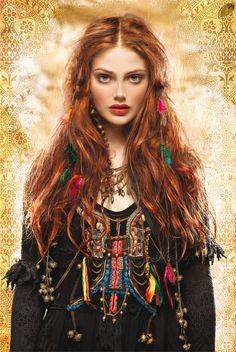 ideas for moda boho hippie bohemian gypsy indie Boho Hippie, Boho Gypsy, Hippie Style, Ethno Style, Gypsy Style, Bohemian Style, Boho Girl, Gypsy Hair, Gypsy Girls