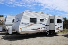 Used 2005 Keystone RV Sprinter 26RB Travel Trailer at Vermont Country Campers | East Montpelier, VT | #UT1968