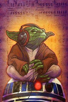 DJ Yoda by Alfredo Lopez Jr