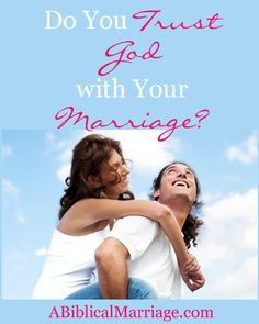 Do You Trust God with Your Marriage?  Since most wives love to have control and because it's difficult to exercise your faith in God, in this video I share how you can trust God with your marriage.  #marriage