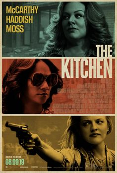 Trailers, TV spots, featurettes, images and posters for the crime drama THE KITCHEN starring Melissa McCarthy, Elisabeth Moss and Tiffany Haddish. Elisabeth Moss, Melissa Mccarthy, Movies 2019, Sci Fi Movies, Good Movies, Movies Free, Action Movies, Venom Film, Peliculas Online Hd