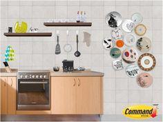 Command también es parte de la decoración de tu cocina, mantén siempre en orden tus utensilios y así podrás tener todo siempre a la mano cuando los necesites.