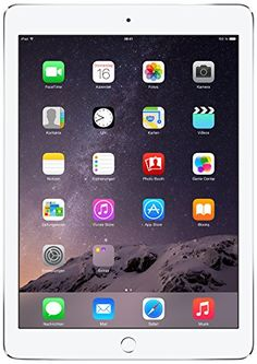 Apple iPad Air 2 24,6 cm (9,7 Zoll) Tablet-PC (WiFi, 64GB Speicher) silber, 508,00 Euro auf Amazon.de