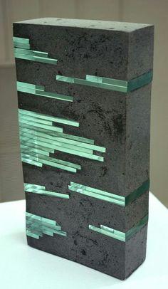 Emerald Cut 2008 Private Collection by Arlene Justice - Justice . - Emerald Cut 2008 Private Collection by Arlene Justice – # SmaragdS - Concrete Sculpture, Concrete Cement, Concrete Furniture, Concrete Crafts, Concrete Projects, Concrete Design, Sculpture Art, Concrete Light, Sculpture Garden