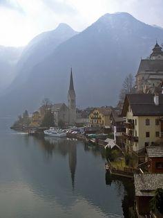 Hallstatt, Austria | Hallstatt in the Austrian lake district… | Flickr