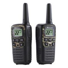 Mossy Oak X-Talker 28-Mile 2-Way Radios USB Charger in Black