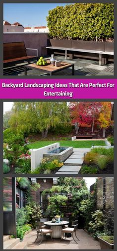Homeowners often spend the majority of their time (and budget) decorating the inside of their home, but the front and back yards are huge areas of opportunity a Backyard Water Feature, Fire Pit Backyard, Landscaping Ideas, Backyard Landscaping, Box Wood Shrub, Home And Garden Store, Fire Pit Area, Backyard Privacy, Lattice Fence