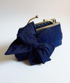 Solid Navy Clutch Deep Blue Clutch Purse Wedding by SheetaDesign $69 Buy it to enjoy 10% off by using Coupon Code: Sheeta2010