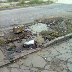 Where is the money of my taxes ? Damn ! This street makes me sad  ☹ #Damn #DestroyStreet #Street