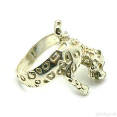 Gepard Ring 925 Sterling Silver Ring AFRICA Animal by YonitYonit