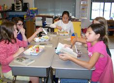 Literary Lunch Bunches Foster Love of Reading and area aligned with Common Core Speaking and Listening standards! Learn how to implement a fun variation of Literature Circles and download a free Lunch Bunch Preparation Bookmark.