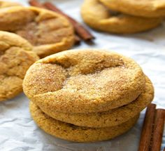 Soft and Chewy Pumpkin Spice Cookies | Food Recipes