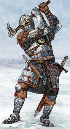 Новгородские воины - Novgorod warrior