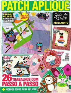 Revistas de manualidades Gratis: Revista patchwork