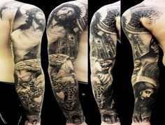 Best Christian Tattoos | Download religious full sleeve tattoo ideas