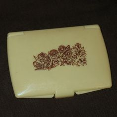 Vintage Coty WILD MUSK Solid Fragrance 1970's Rare Compact Used,Discontinued #Coty