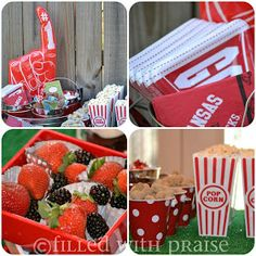 Filled With Praise: Tailgating Birthday Party {Razorback Style}