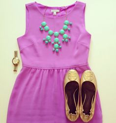 Sweet Southern Prep. This colour combo. of the teal and bright pink is so amazing and summery! Inspired!!!