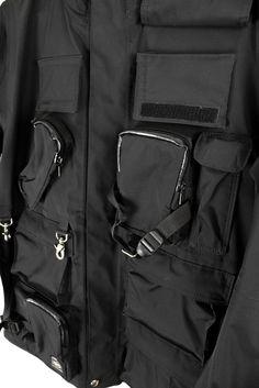 Junya Watanabe WTT 4 Acronym / 05SS Transformable Black goretex porter jacket Size US S / EU 44-46 / 1 - 5