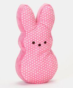 eb313d54aafc8 Pink Polka Dot Peeps Bunny Large Plush Toy by PEEPS®