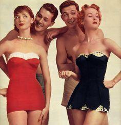 1950's Beach Date