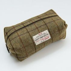 The  CaptainFawcett  Tweed  WashBag ..The indispensable wash bag for the  discerning 13d995948600b